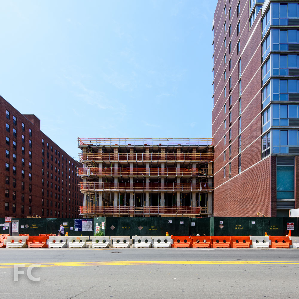 East facade from Chrystie Street.