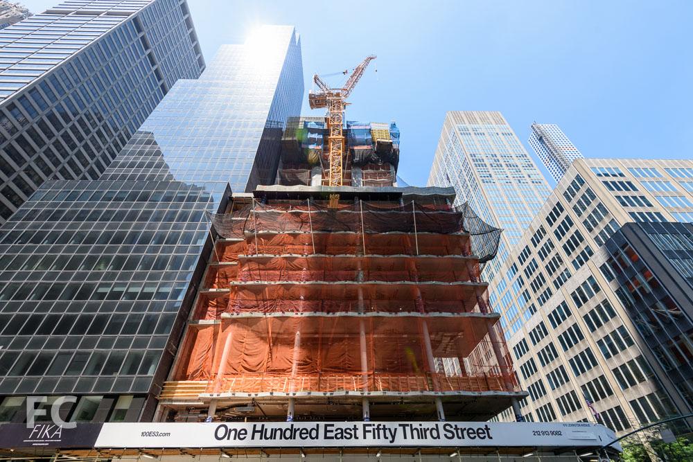 East façade from Lexington Avenue.