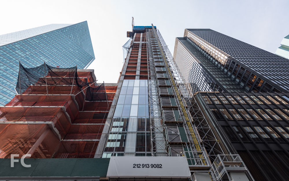 North facade from East 53rd Street.