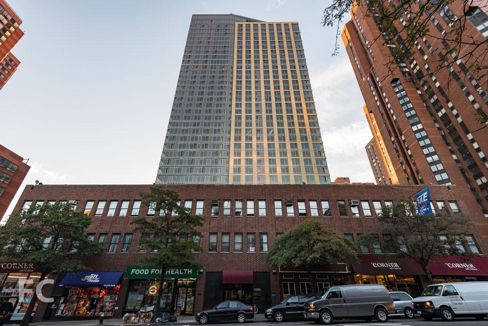 West façade from Third Avenue.
