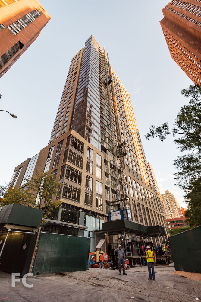 Southeast corner from East 92nd Street.