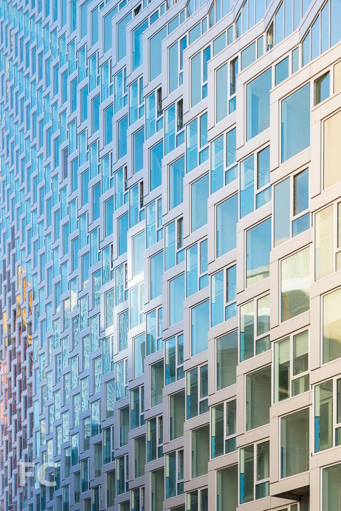 North façade close-up.