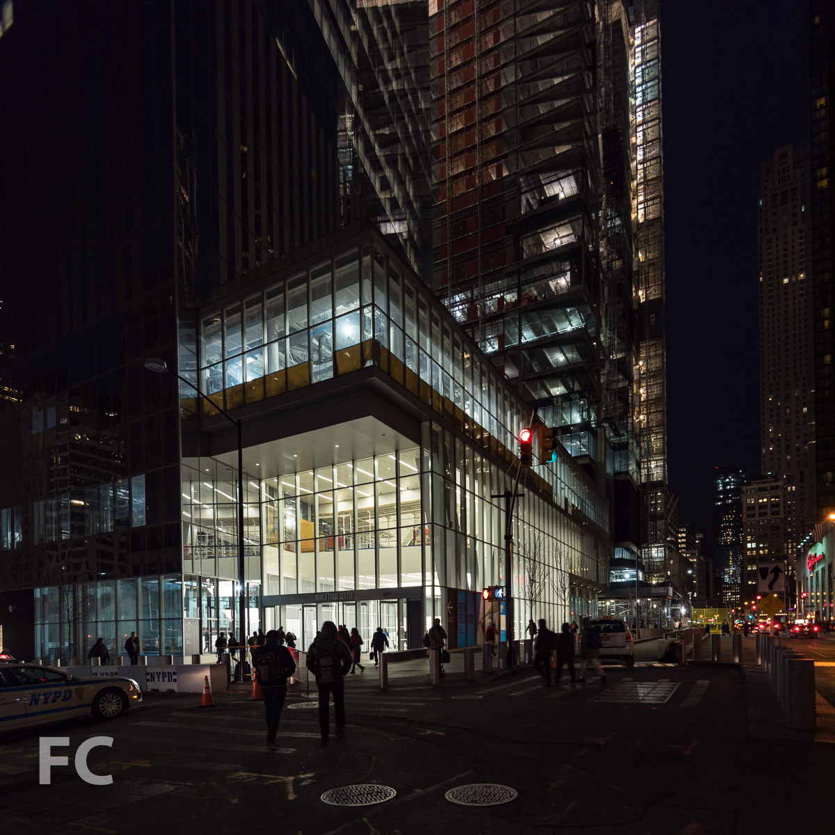 Entry from 4 WTC.