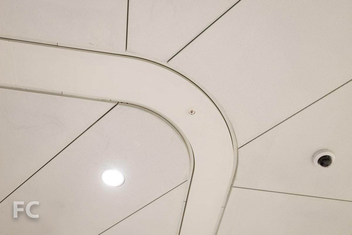 South Concourse ceiling detail.