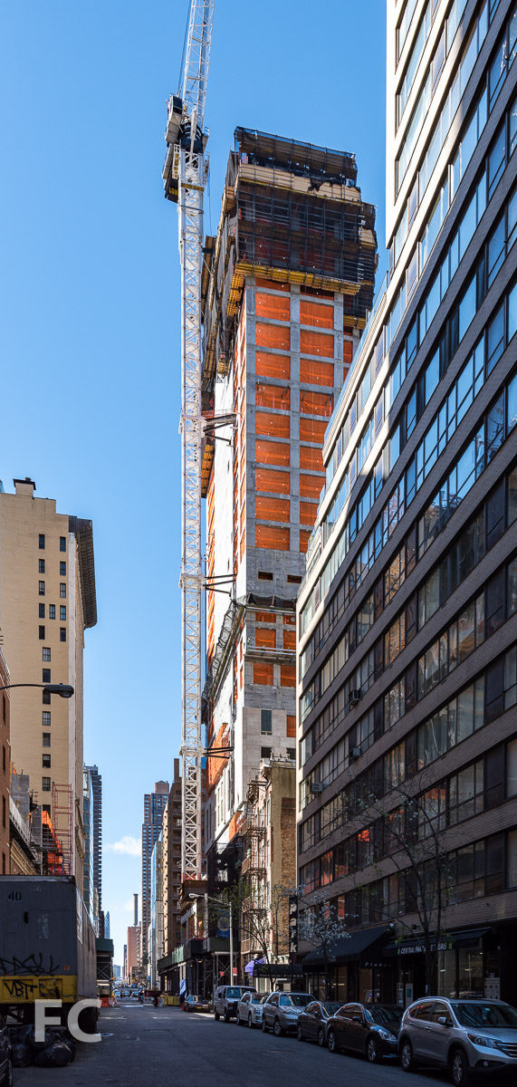 Southeast corner from West 58th Street.
