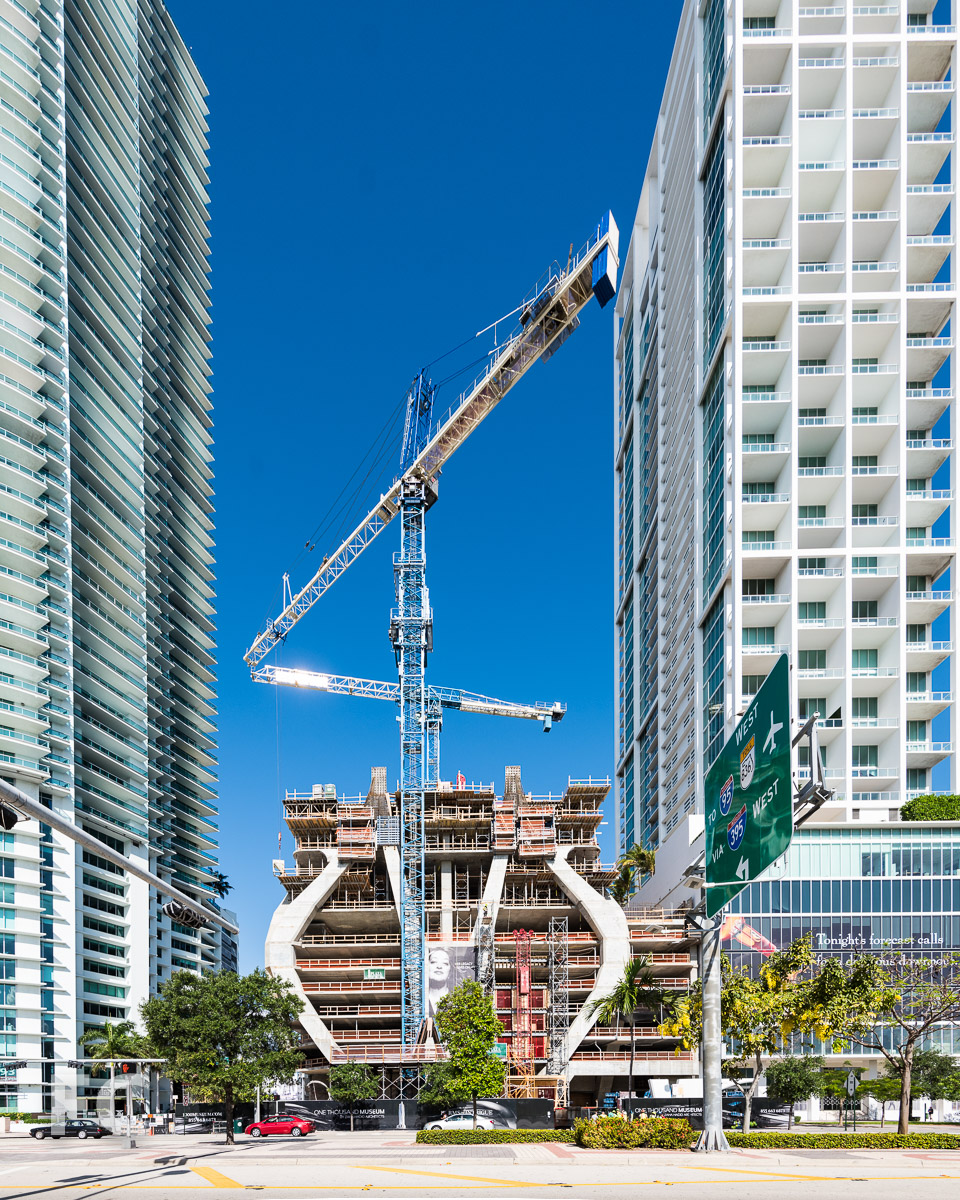 East facade from Biscayne Boulevard.