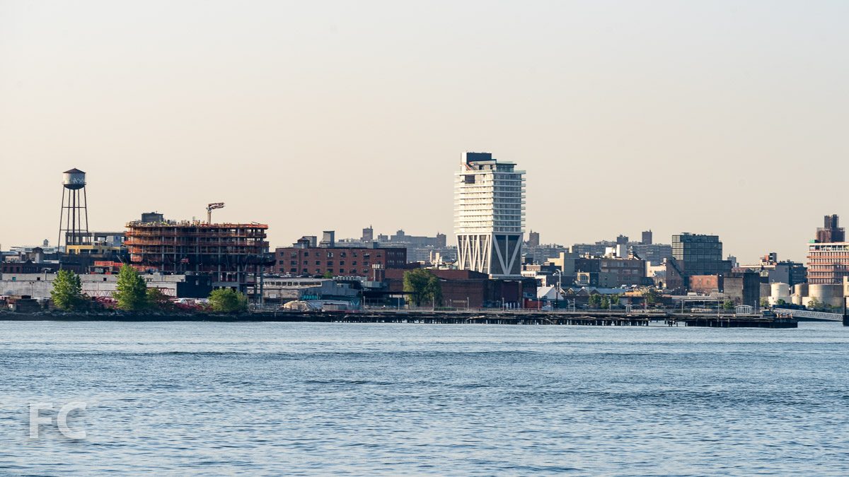 View from the East River.