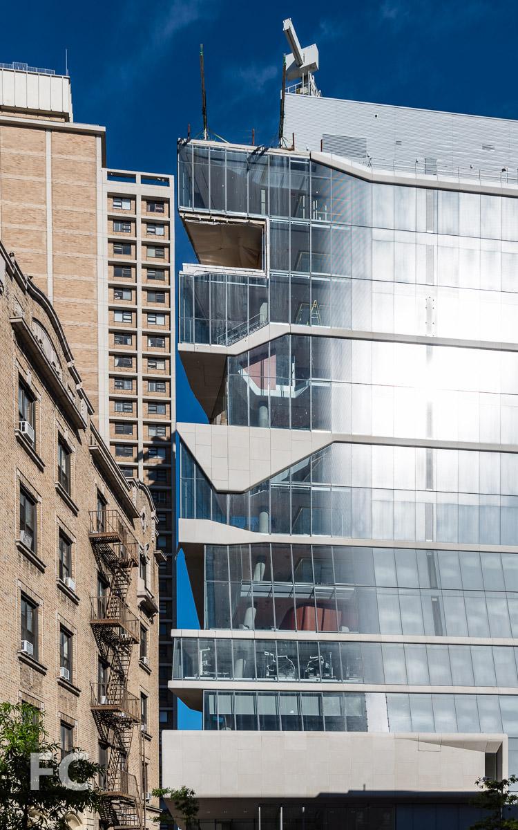 East façade from West 171st Street.