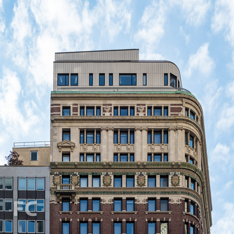 New structure built atop the existing 84 William Street.