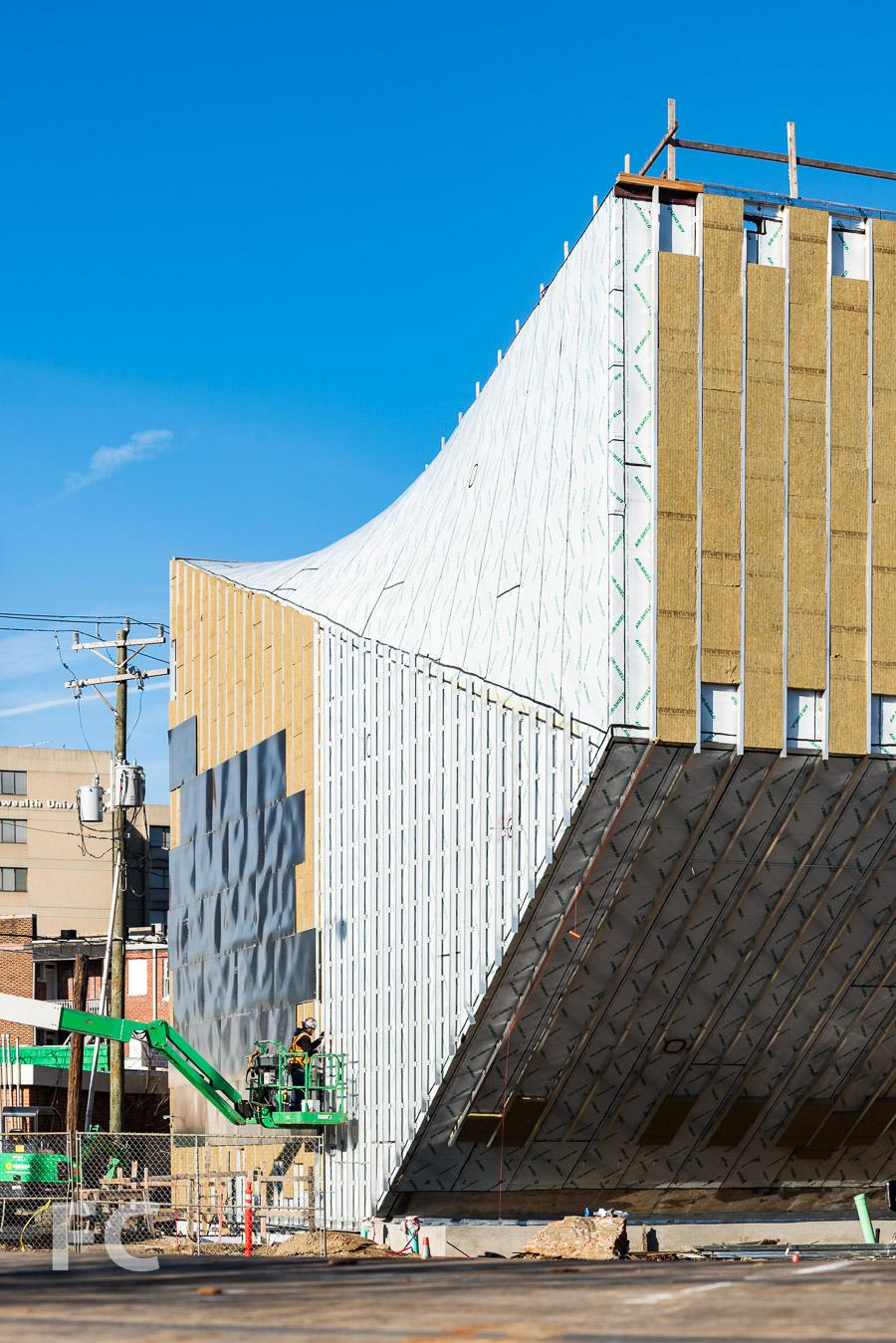South facade close-up.