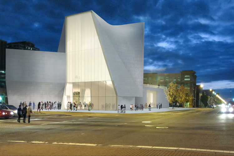 Rendering. Courtesy of Steven Holl Architects.