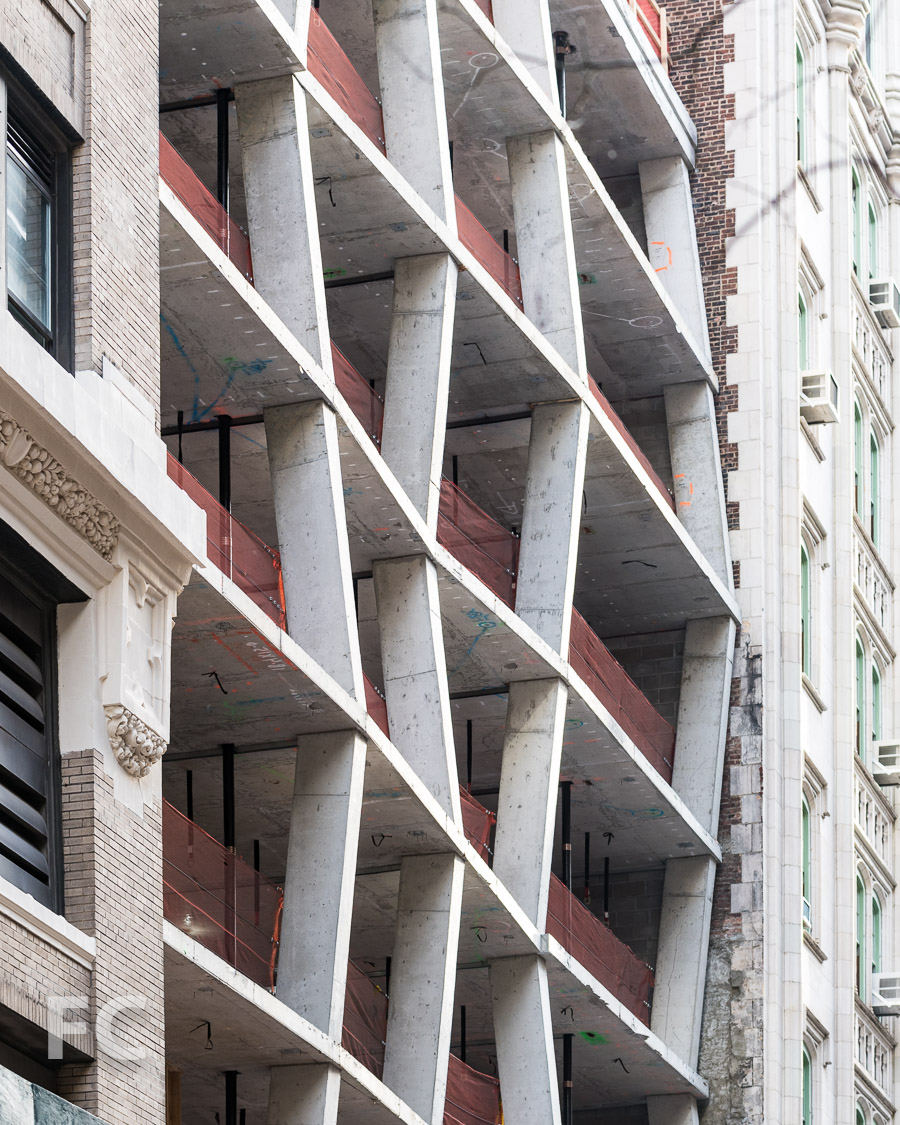 South facade detail.