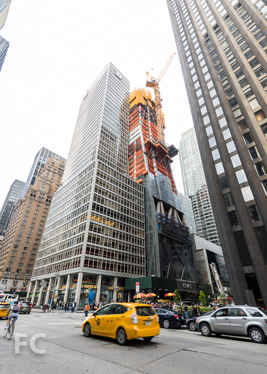 Southwest corner from 6th Avenue.