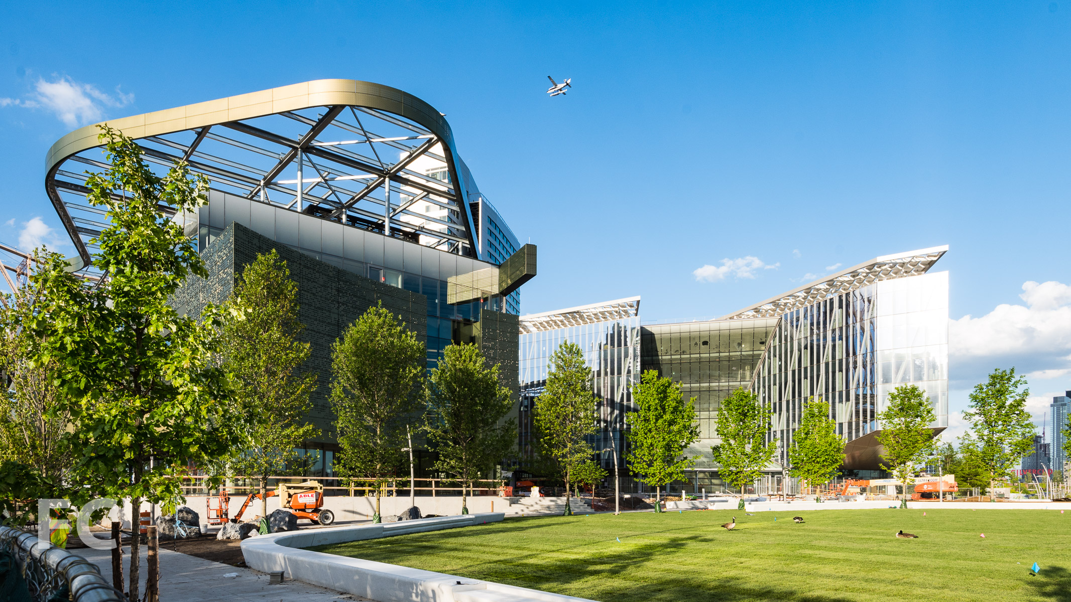 View of the Cornell Tech campus from the south.