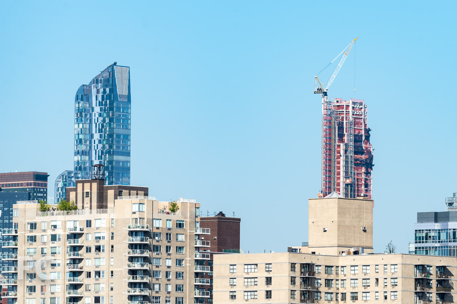 One57 (left) and 220 Central Park South (right).