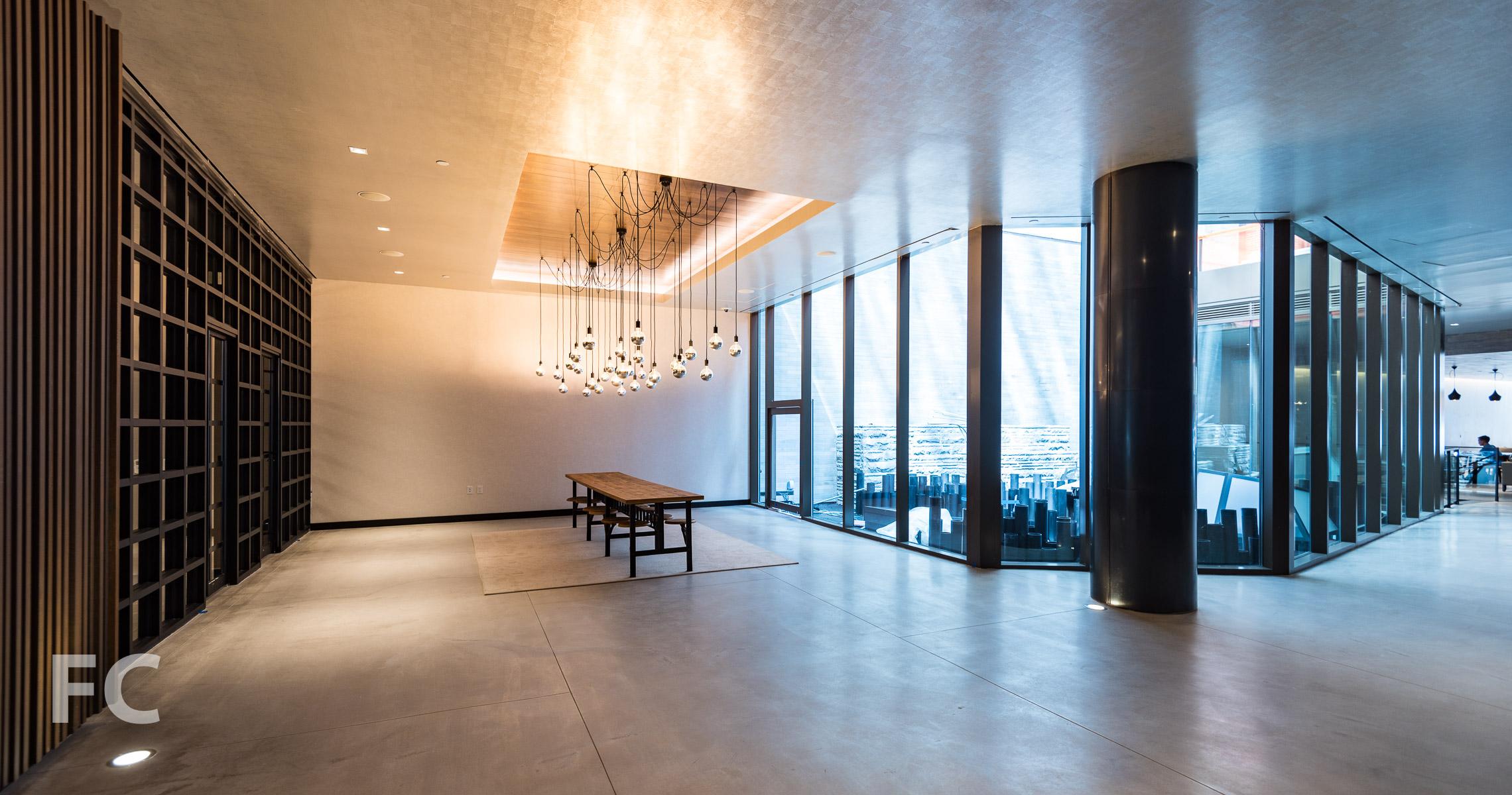 Lobby atrium.