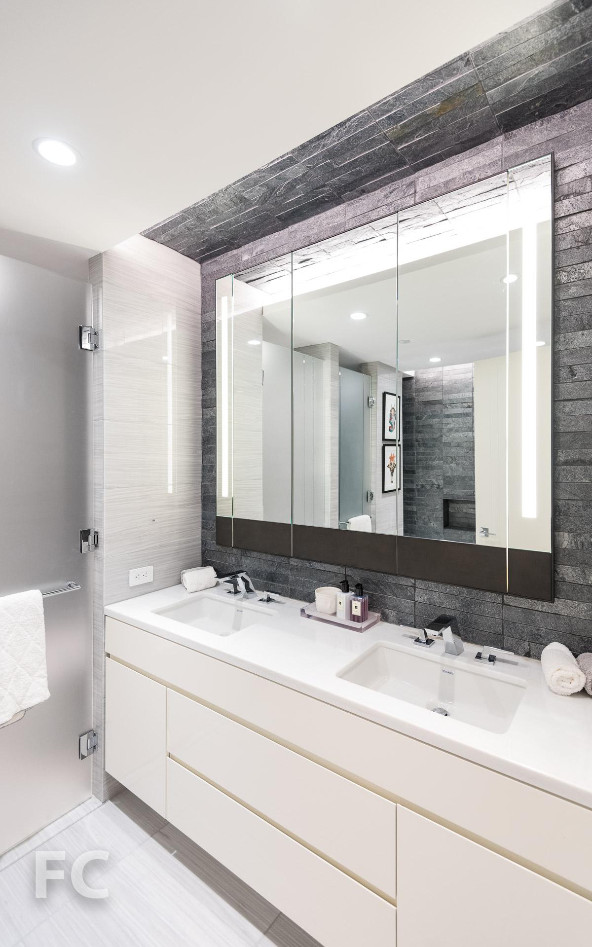 Master bathroom vanity.