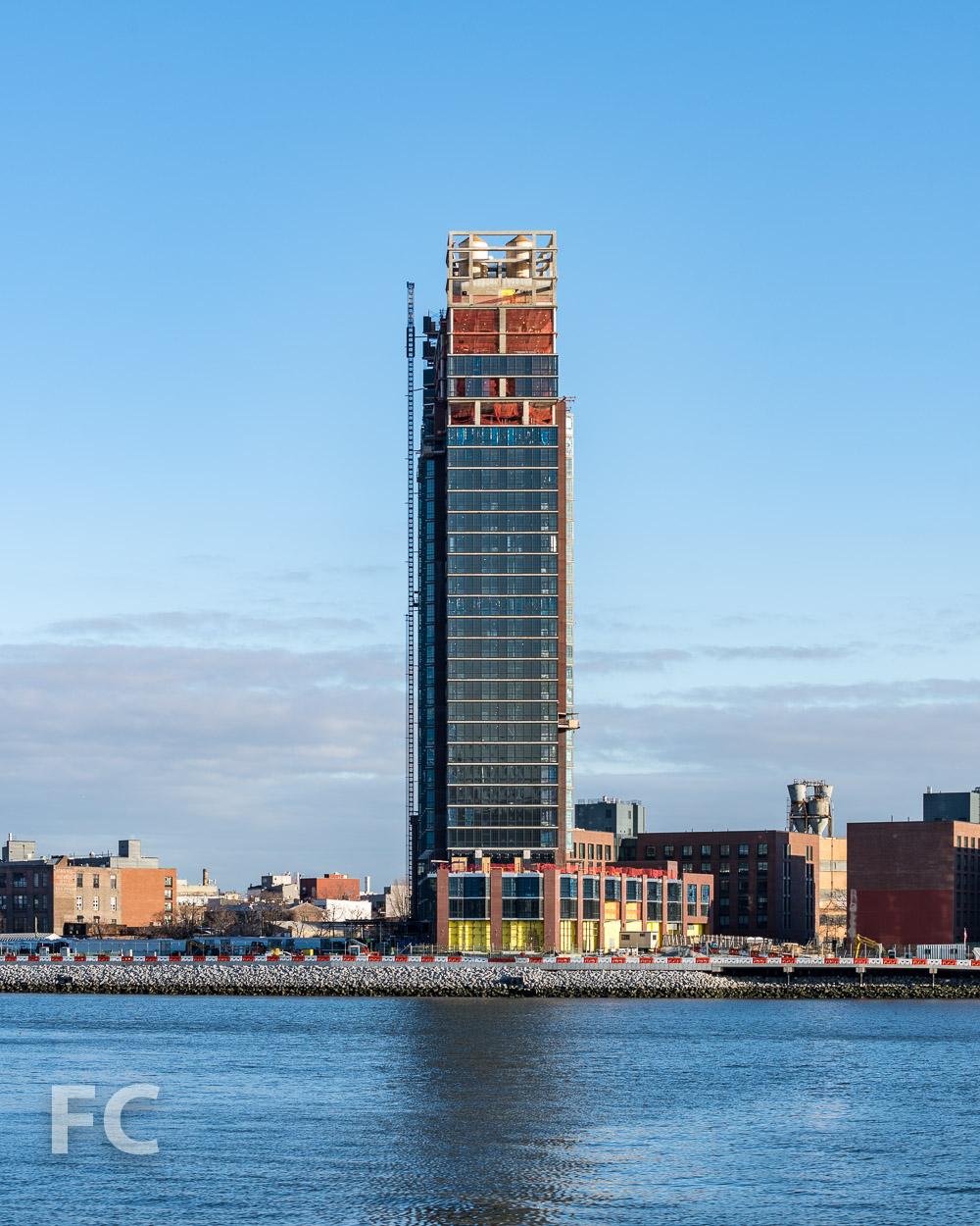 North façade of 37 Blue Slip.