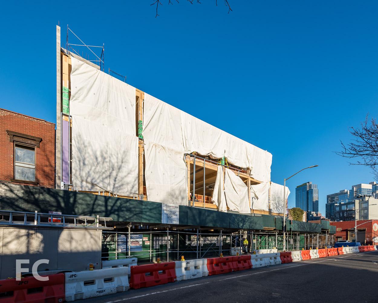 East facade of 320 Wythe.