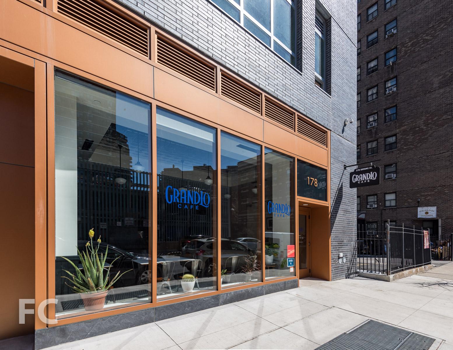 Retail storefront at 175 Delancey Street.