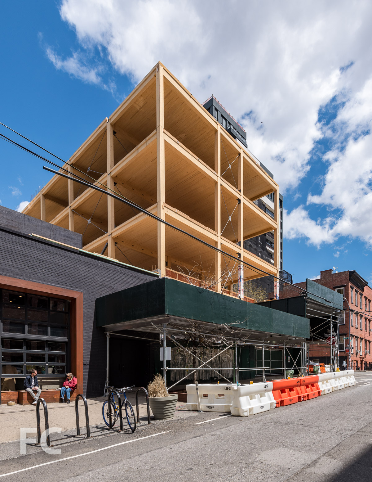 Southwest corner of 360 Wythe from South 3rd Street.