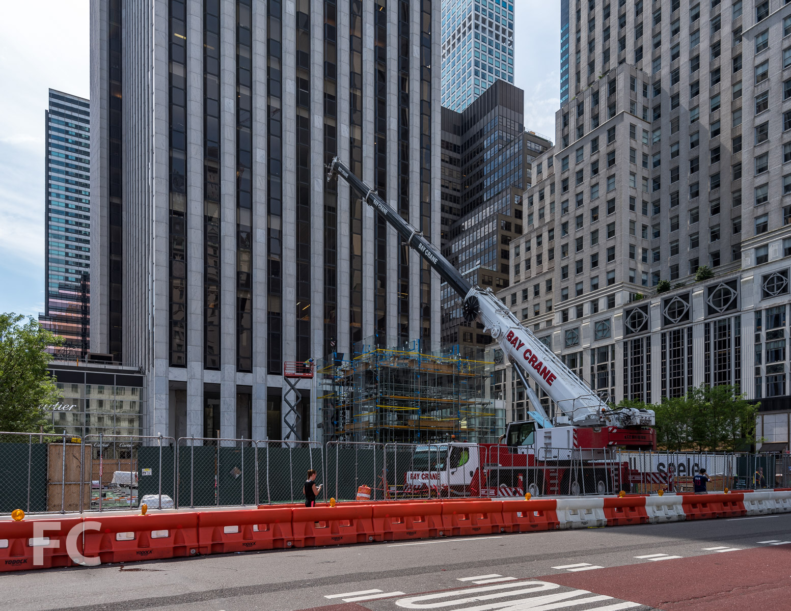 Construction Update: Apple Fifth Avenue — FIELD CONDITION