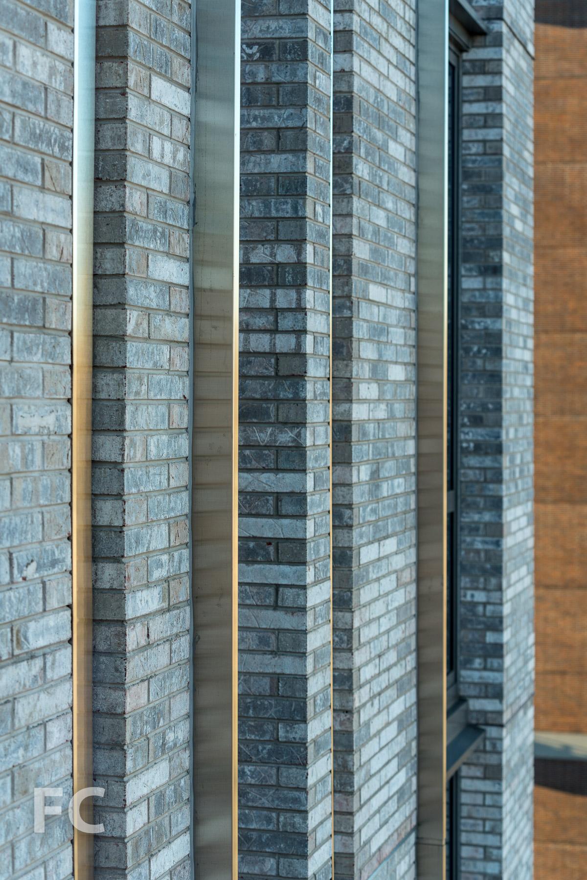 Tower facade detail.