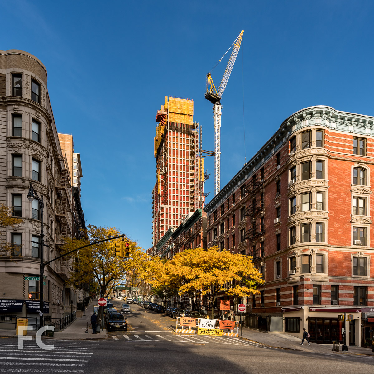 East facade from West 122nd Street.