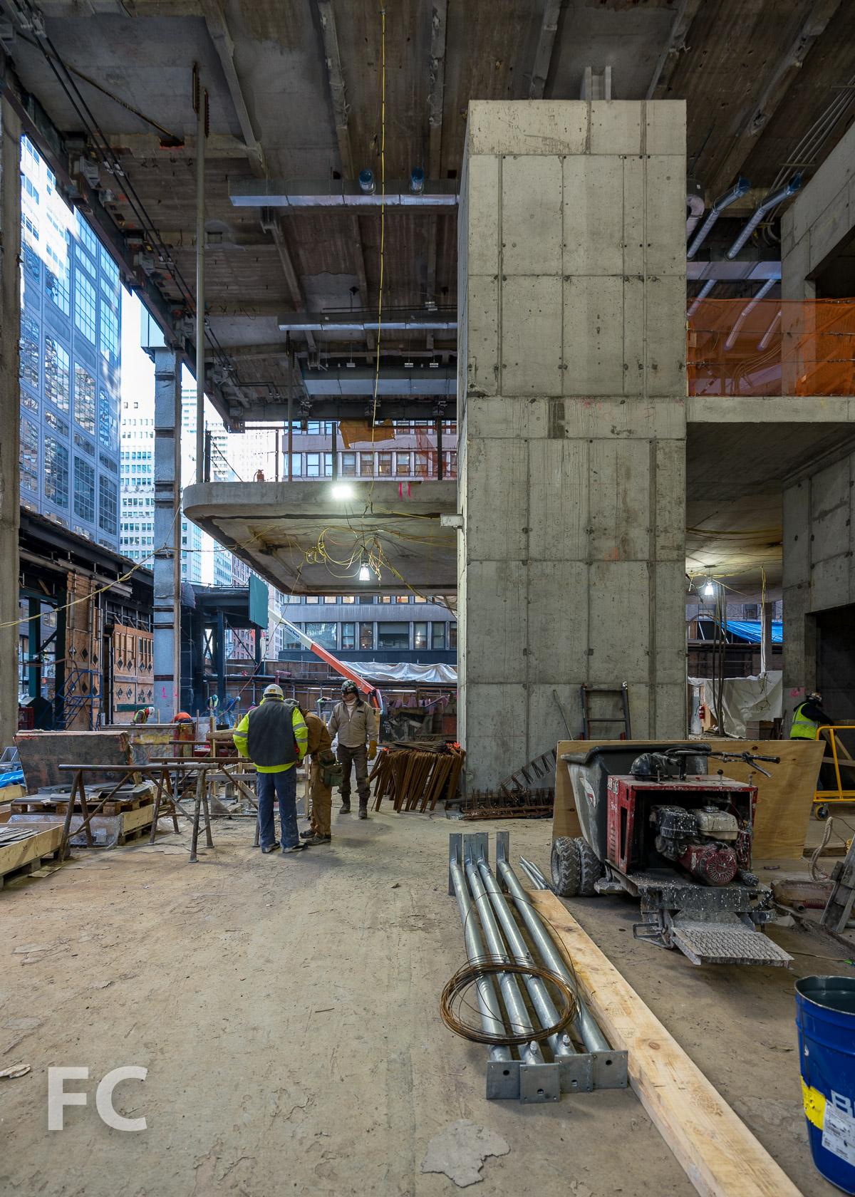 Ground floor lobby.