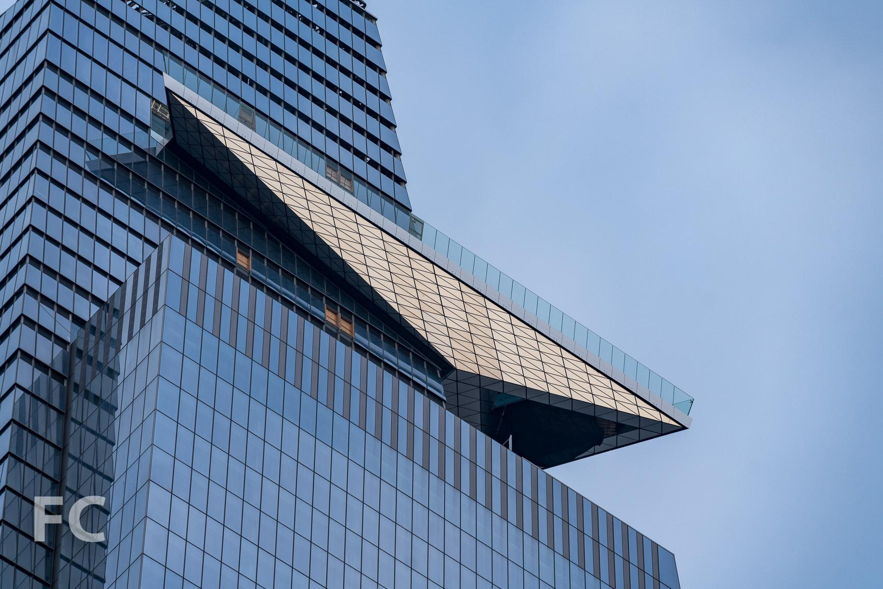 The observation deck at 30 Hudson Yards.