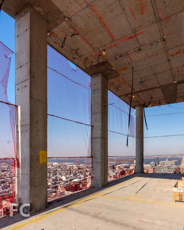 32nd floor Sky Club.