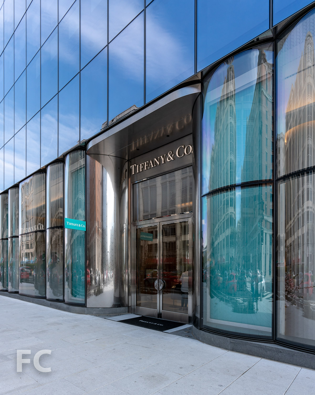 Tiffany & Co. retail storefront.