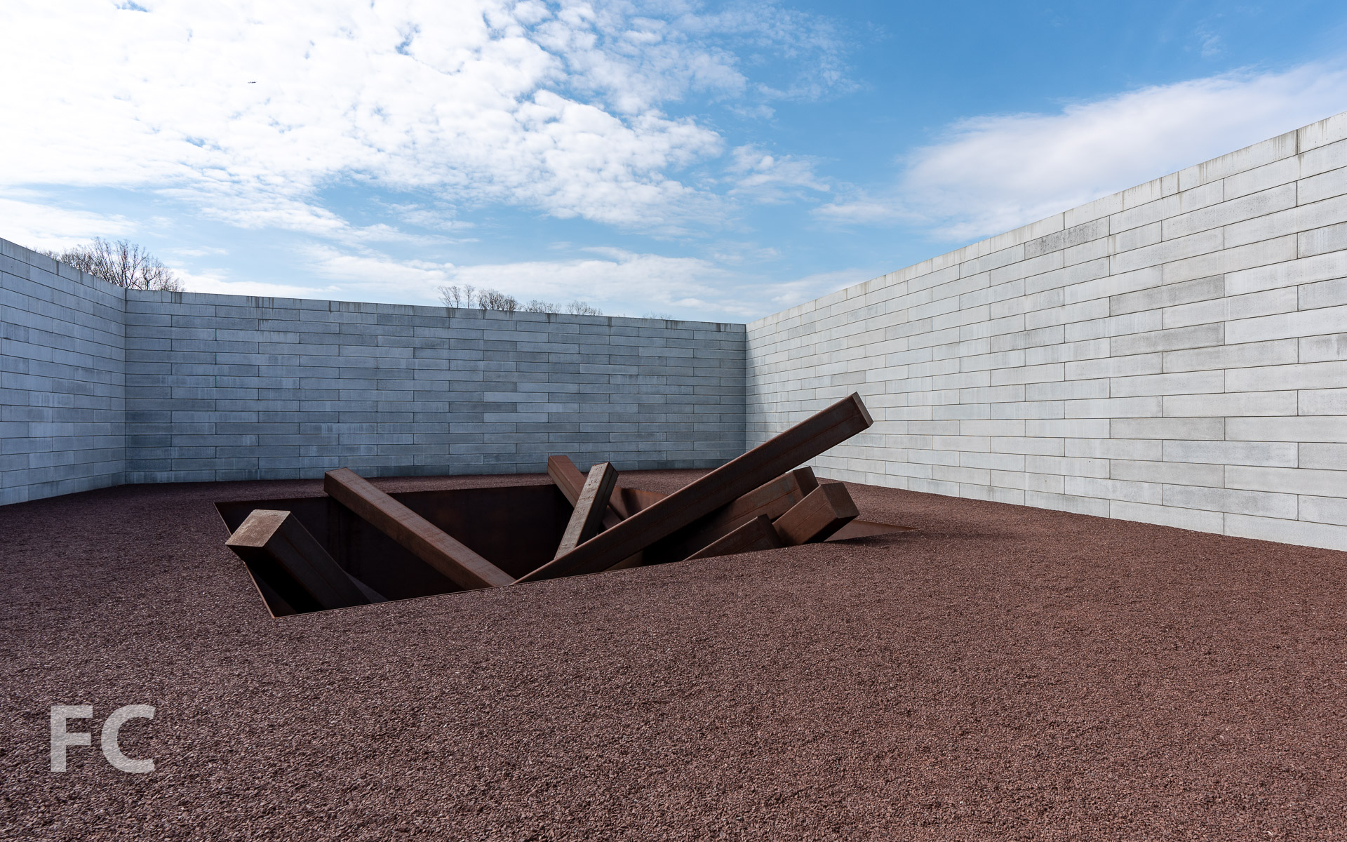 Collapse by Michael Heizer.
