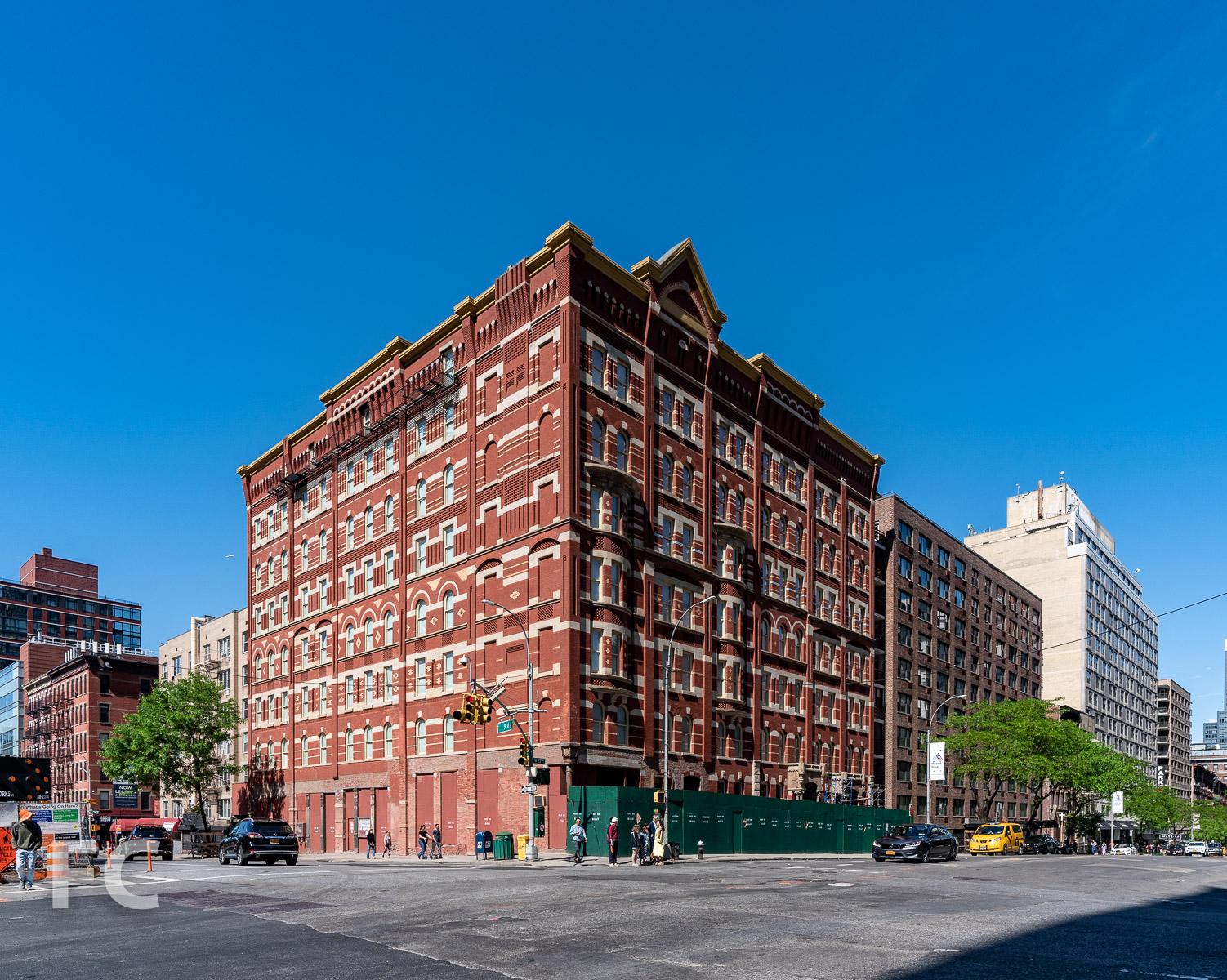 Northeast corner from West 57th Street.