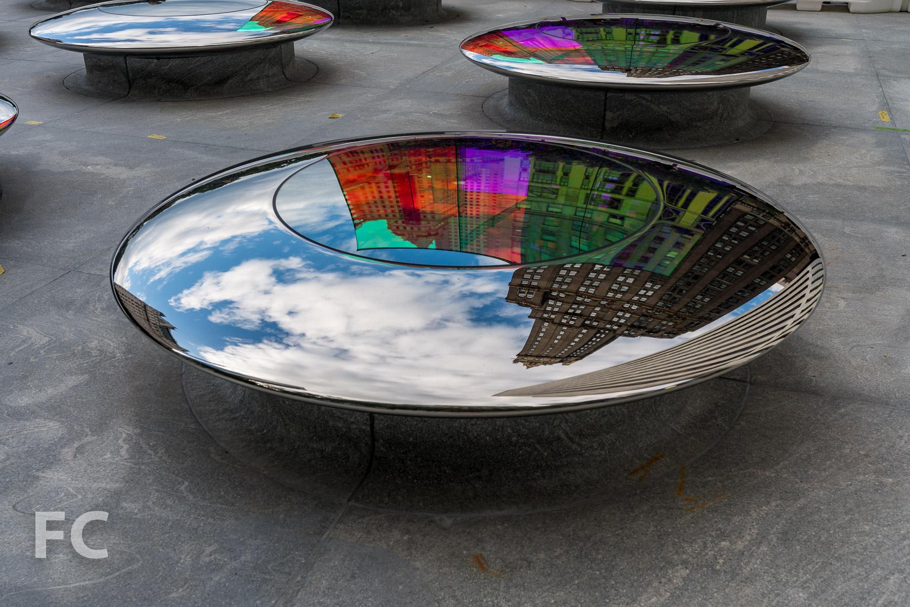 Plaza skylight.