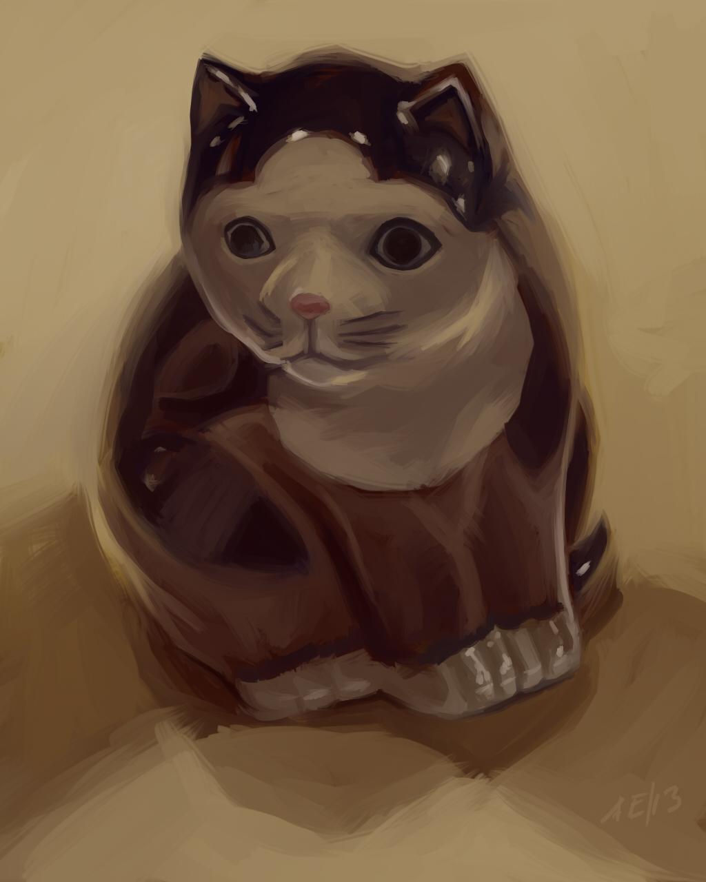 An Ornamental Feline