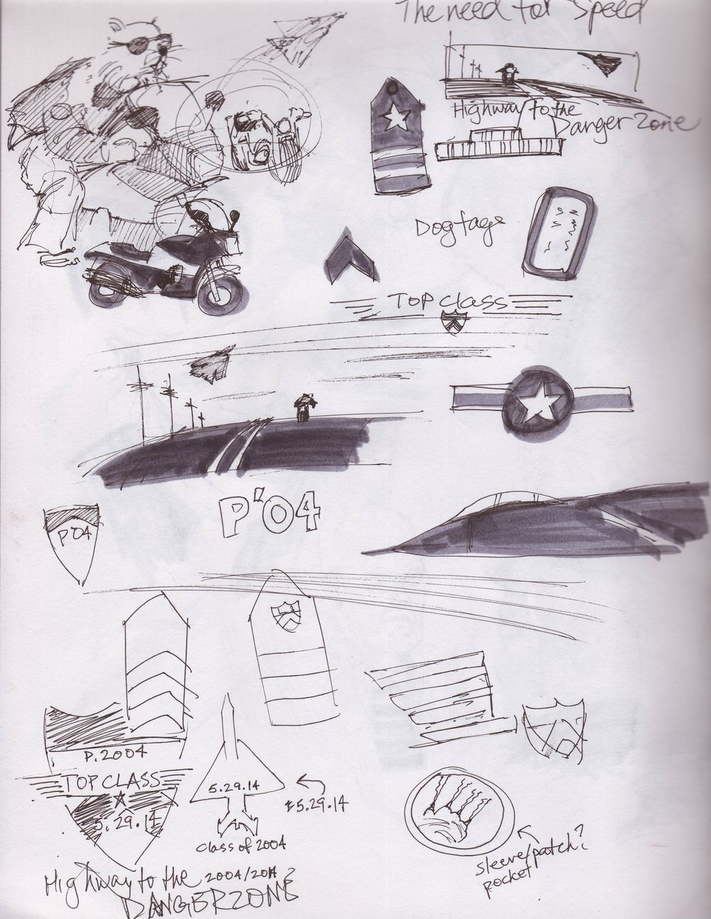 Exploratory Sketches