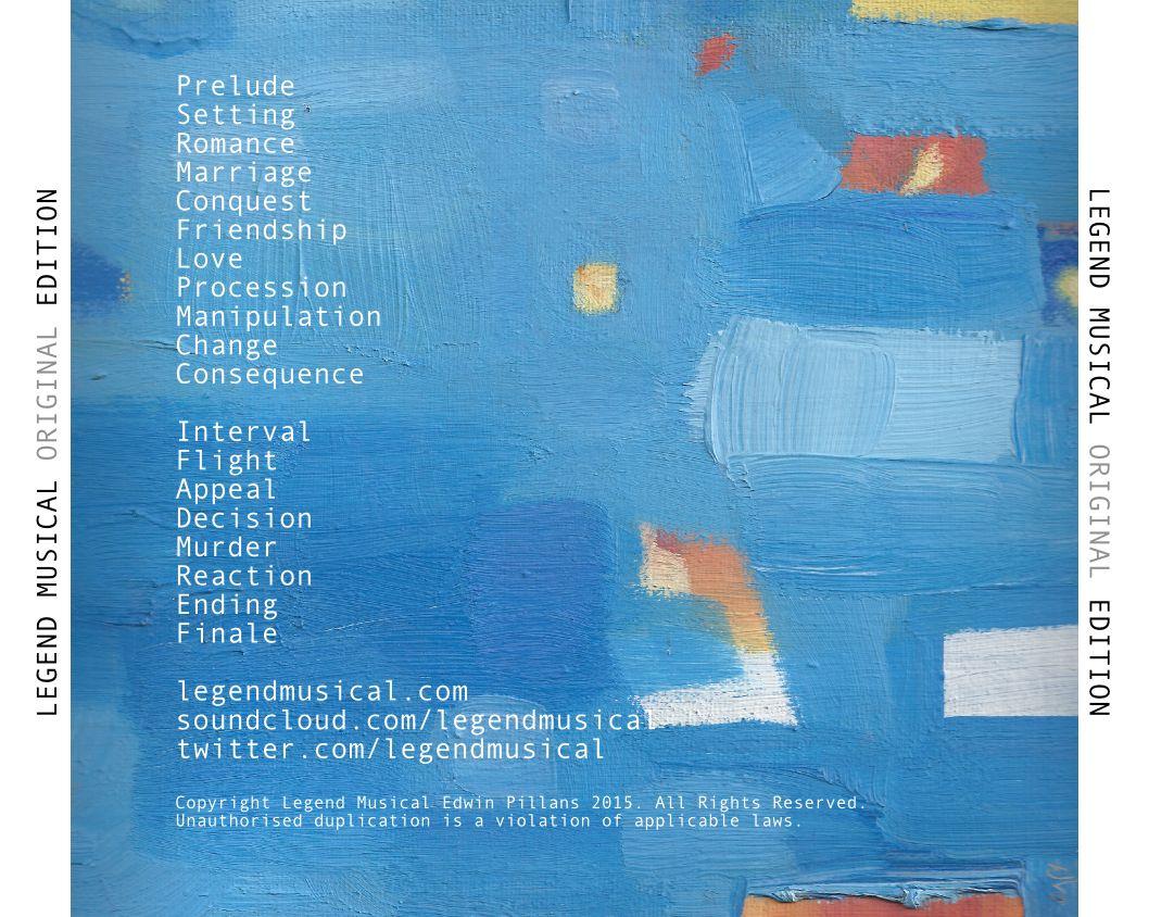 Album Back Cover (Original)