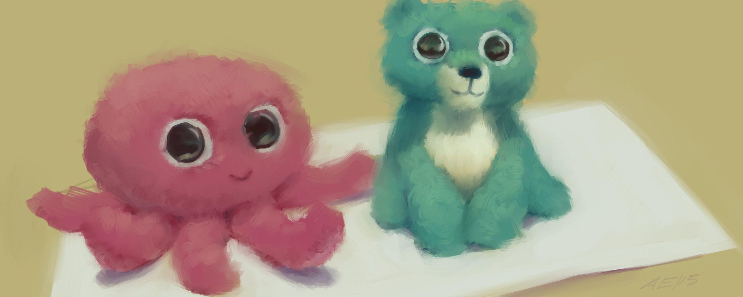Stuffed and Cute
