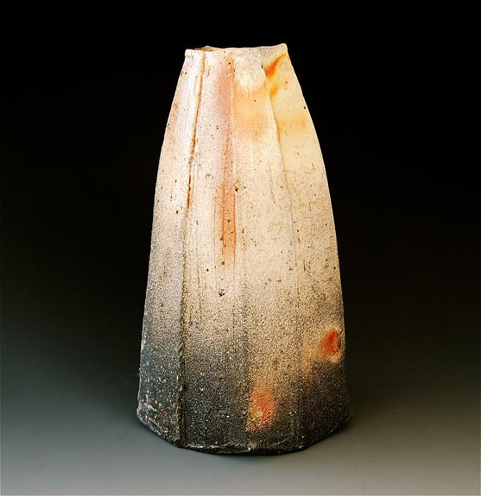 woodfired 15 ( vase ) 12.75 x 7 x 7 inches