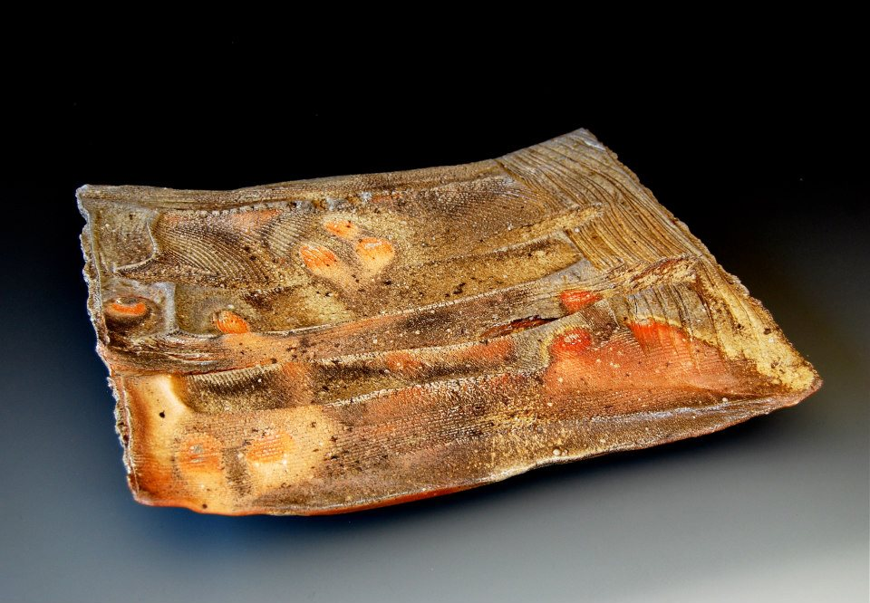 woodfired  62 ( large plate )  17.5 x 15 x 2.5 inches