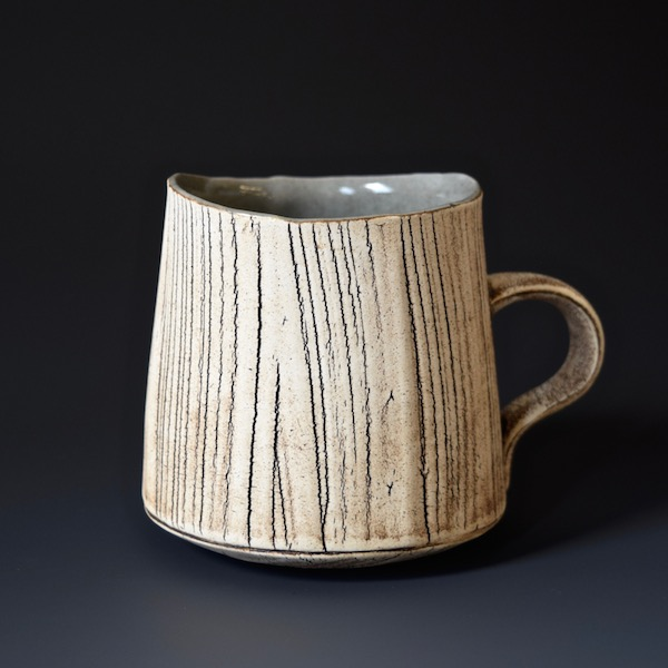 wr-3 Mug $55 holds 12 oz, handle for one finger