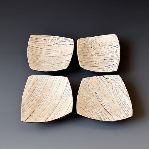 wr-35 Small Plate Set $56 4 x 4 x 1 inches