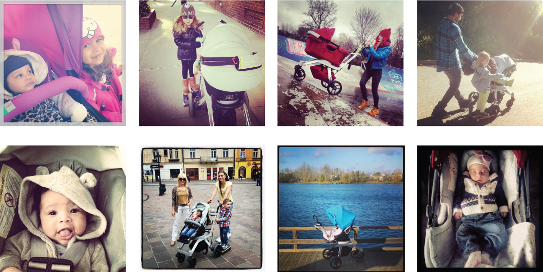 Images from Orbit Baby fans on Instagram (#orbitbaby)
