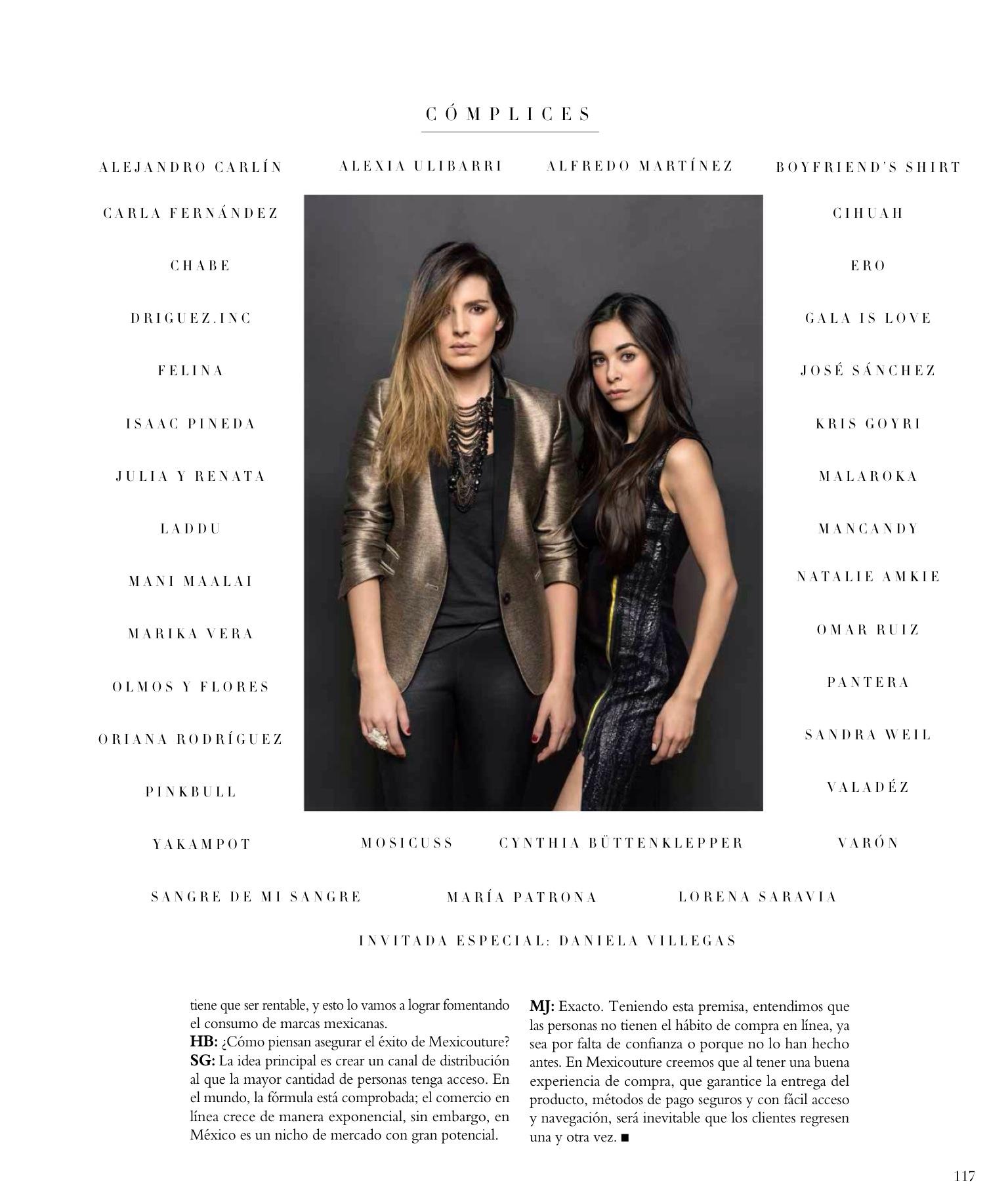 SARA GALINDO & MARÍA JOSÉ HERNÁNDEZ   MEXICOUTURE