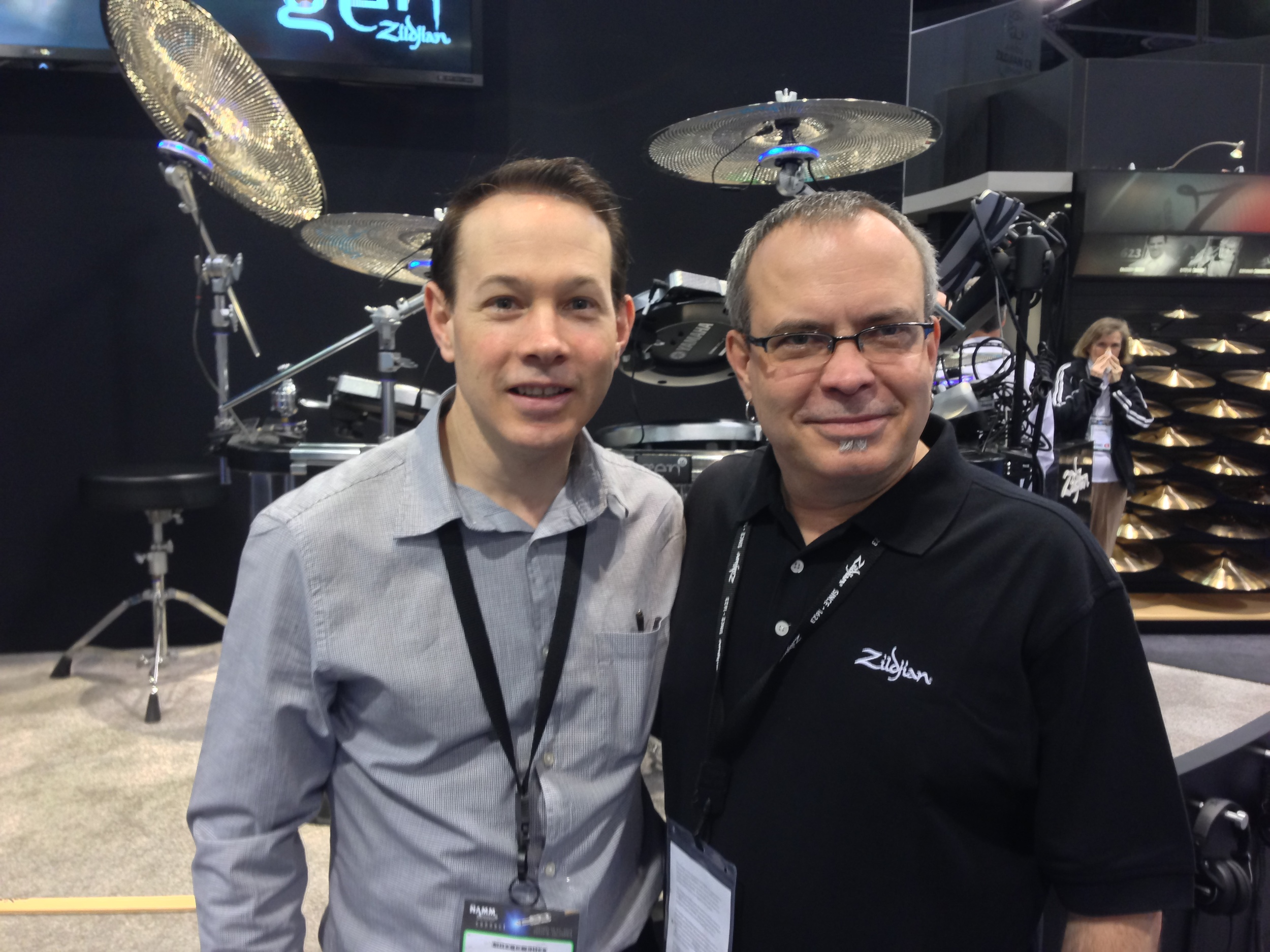 with Paul Francis - Zildjian, NAMM 2014