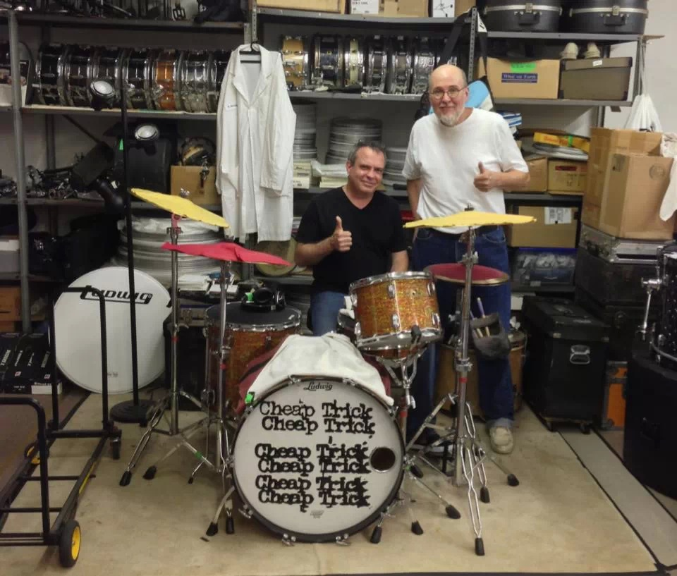 An afternoon in the home of Bun E. Carlos - Cheap Trick, 2013