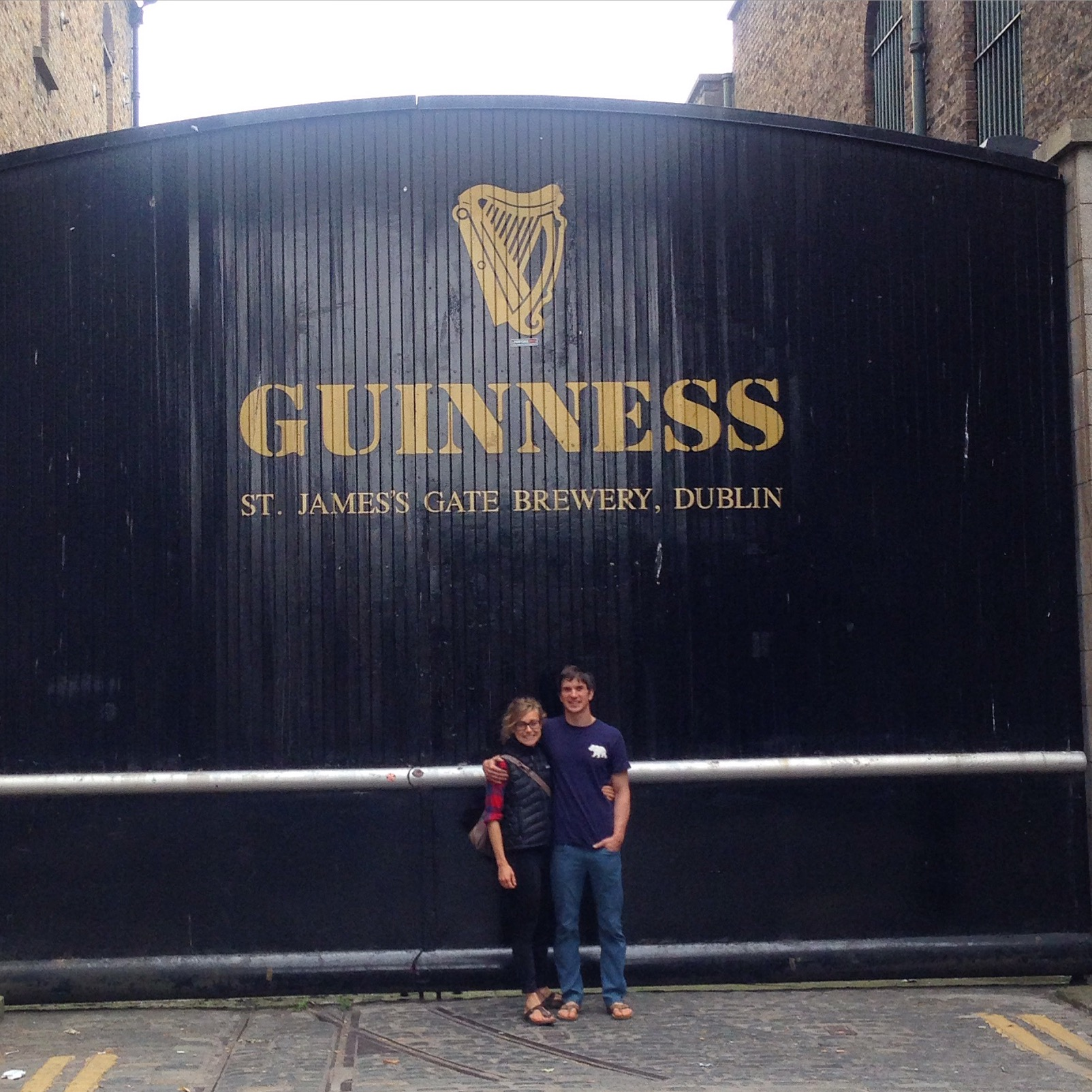 obviously there was a guinness tour involved.