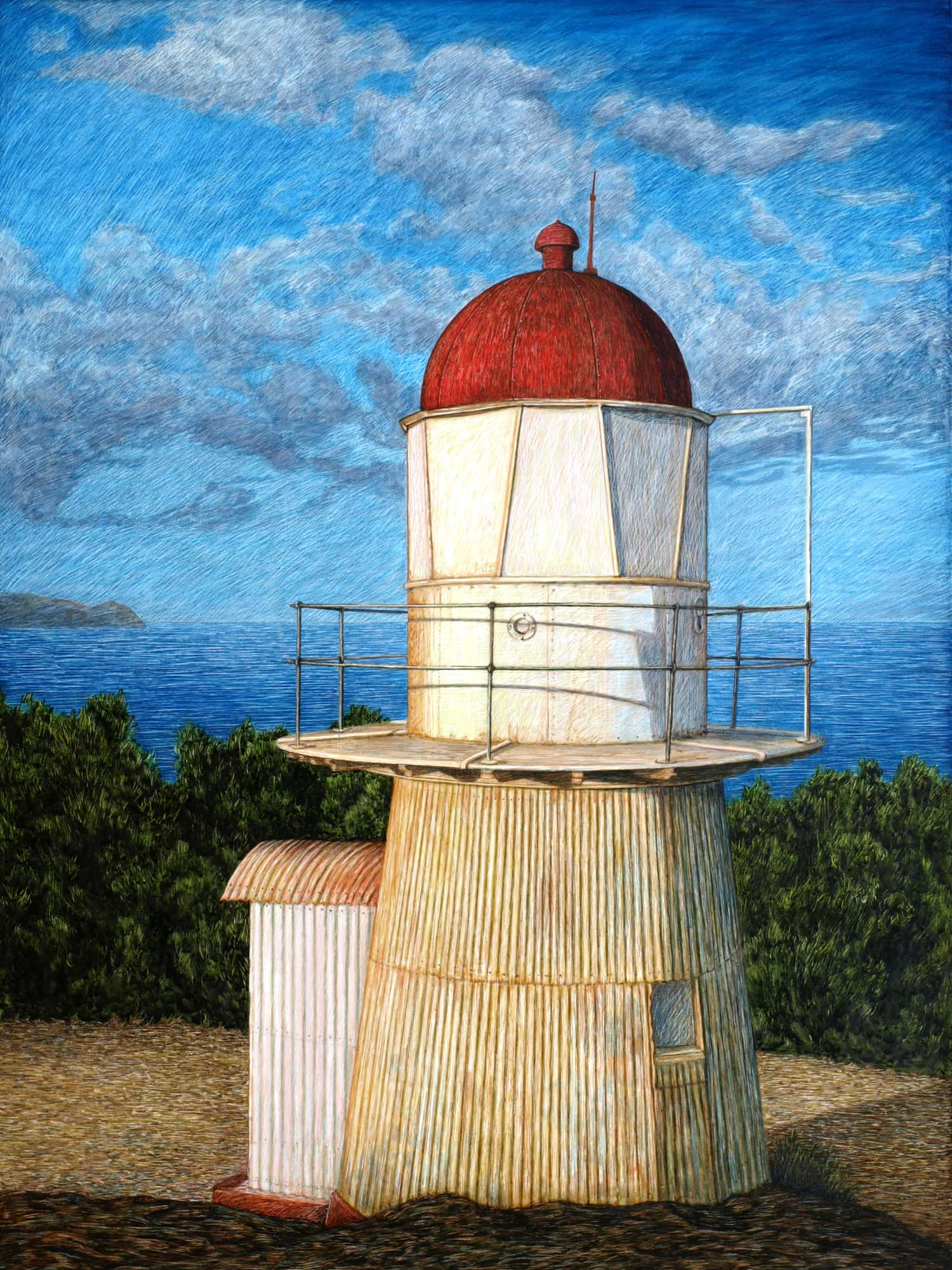 COOKTOWN LIGHTHOUSE  61 X 45.5 CM,  EDITION OF 50  PIGMENT ON COTTON RAG PAPER  $1,100 Also available 75 x 56 cm $1,350