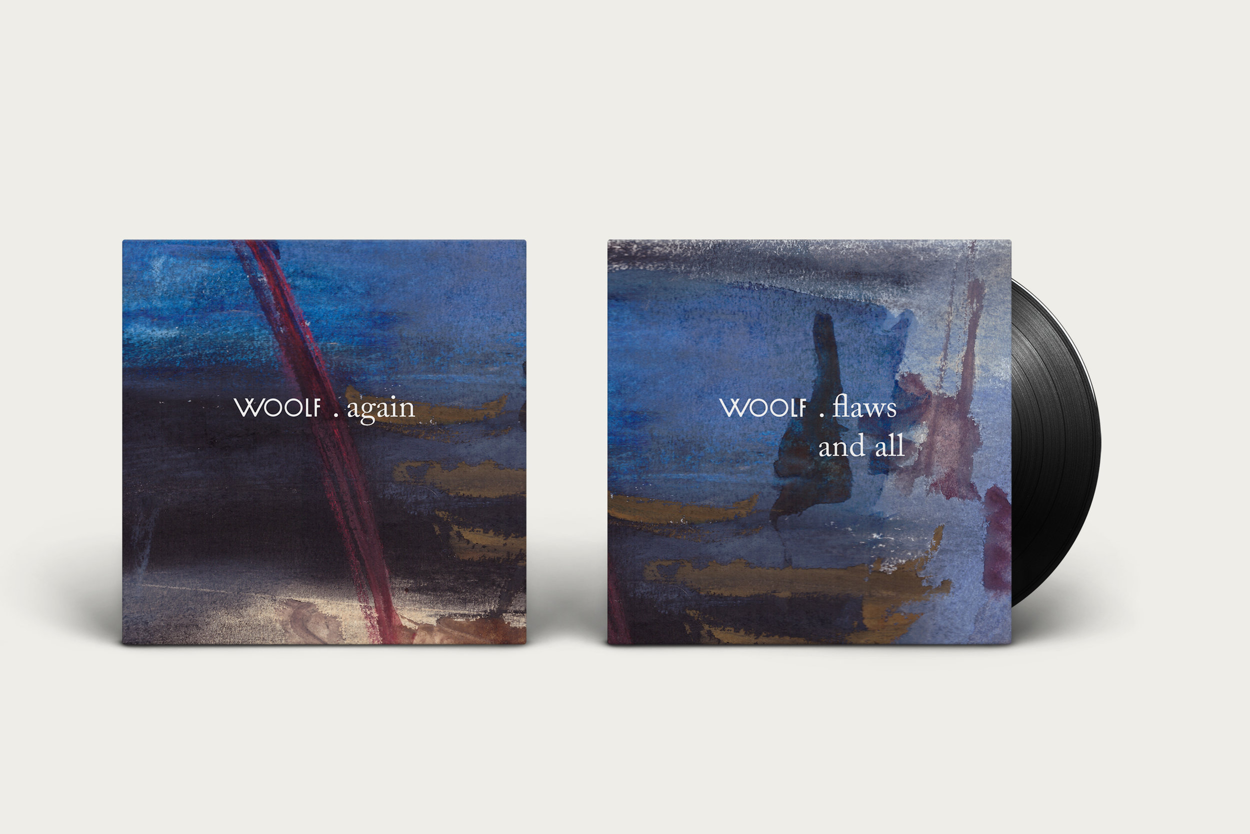 album cover artwork woolf
